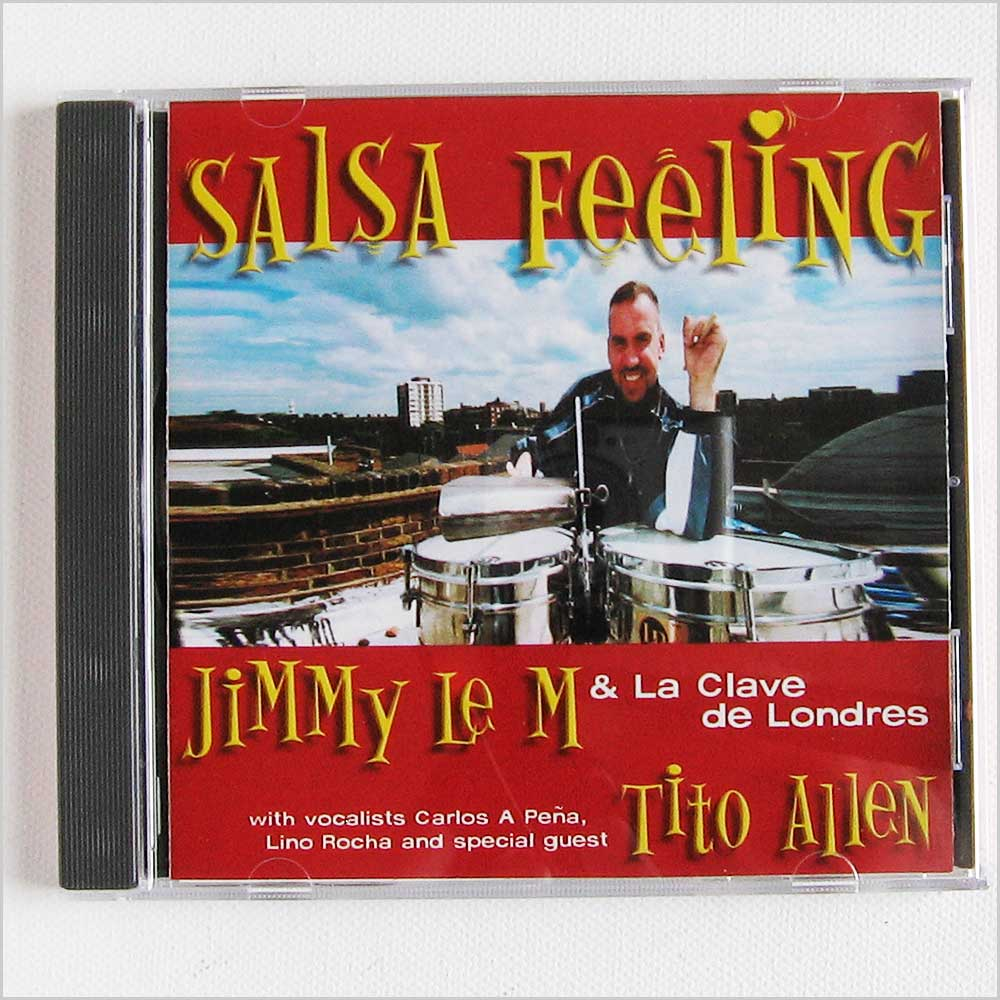 Jimmy Le M and La Clave de Londres - Salsa Feeling (SLICD008)