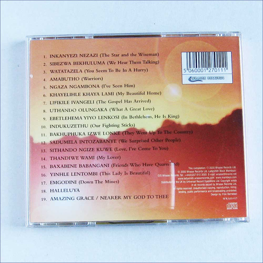 Ladysmith Black Mambazo - Favourites (WRASS017)