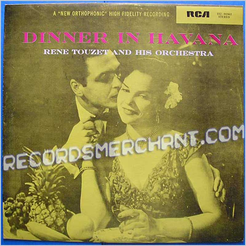 Rene Touzet And His Orchestra - Dinner In Havana (102-01865)