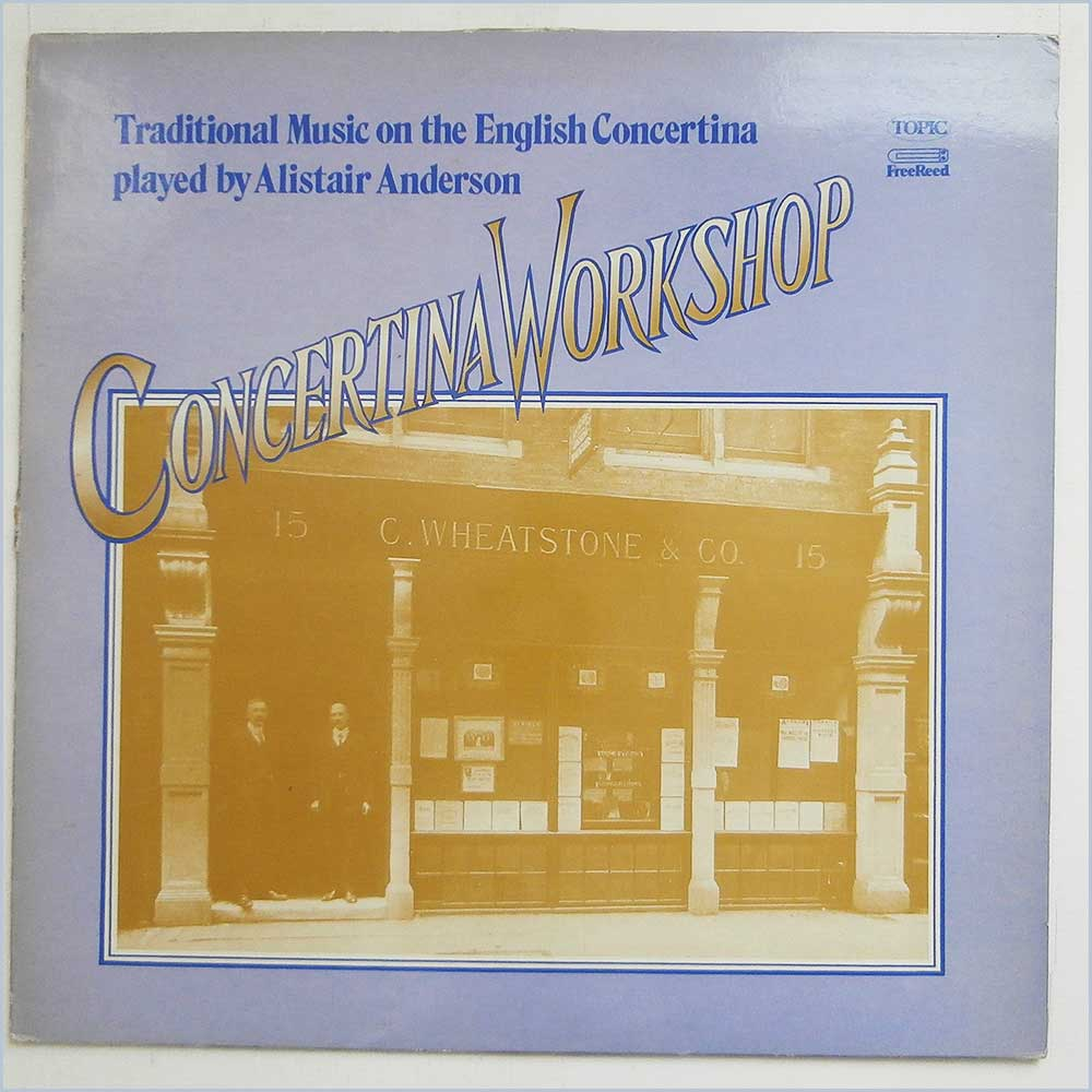 Alisdair Anderson - Concertina Workshop Traditional Music On The English Concertina (12TFRS501)