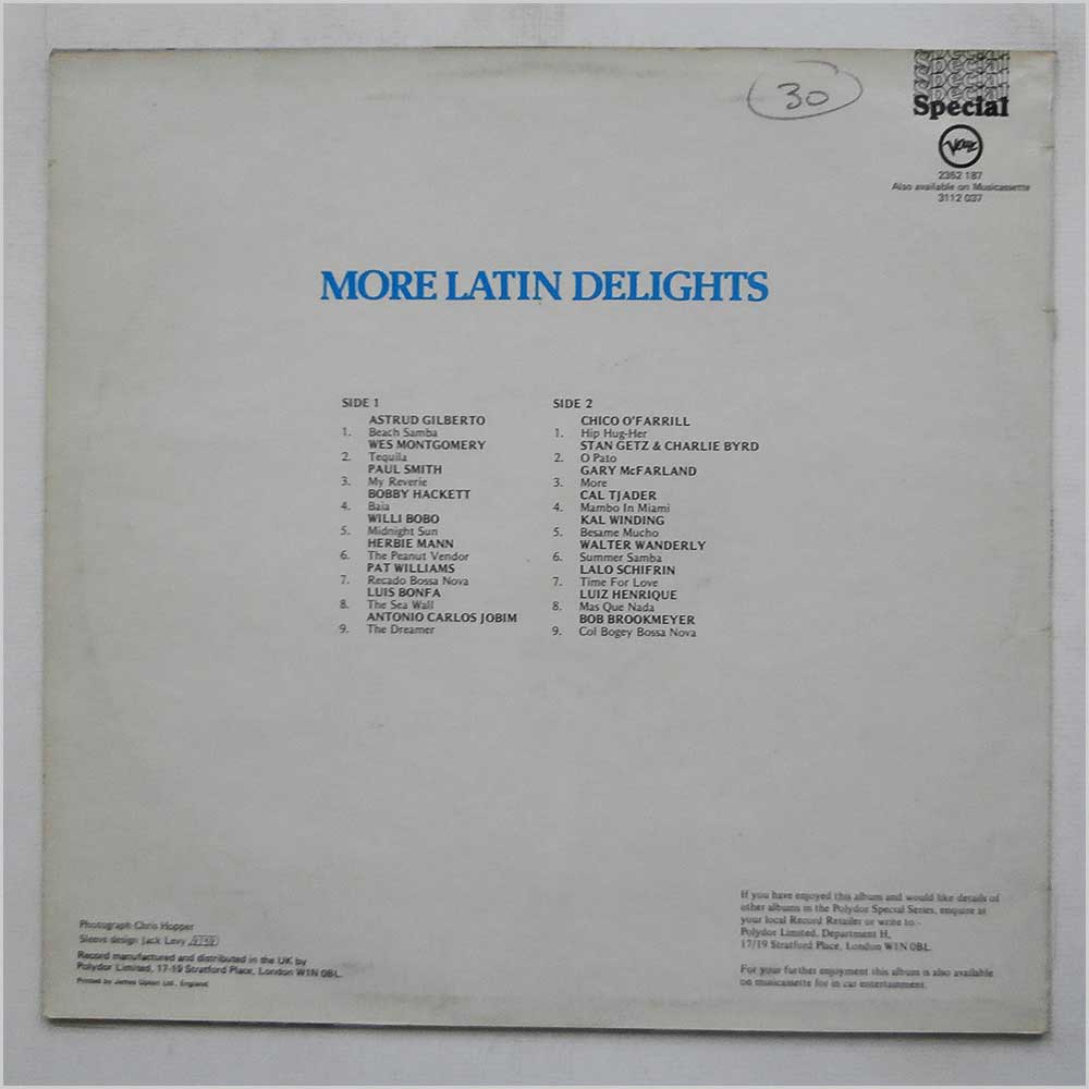 Various - More Latin Delights (2352 187)