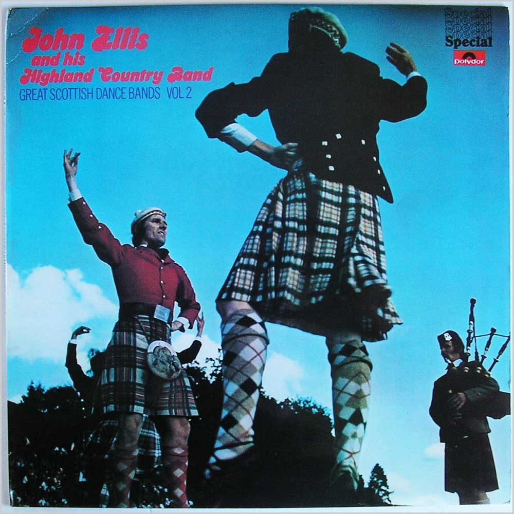 John Ellis And His Highland Country Band - Great Scottish Dance Bands Vol 2 (2384 361)