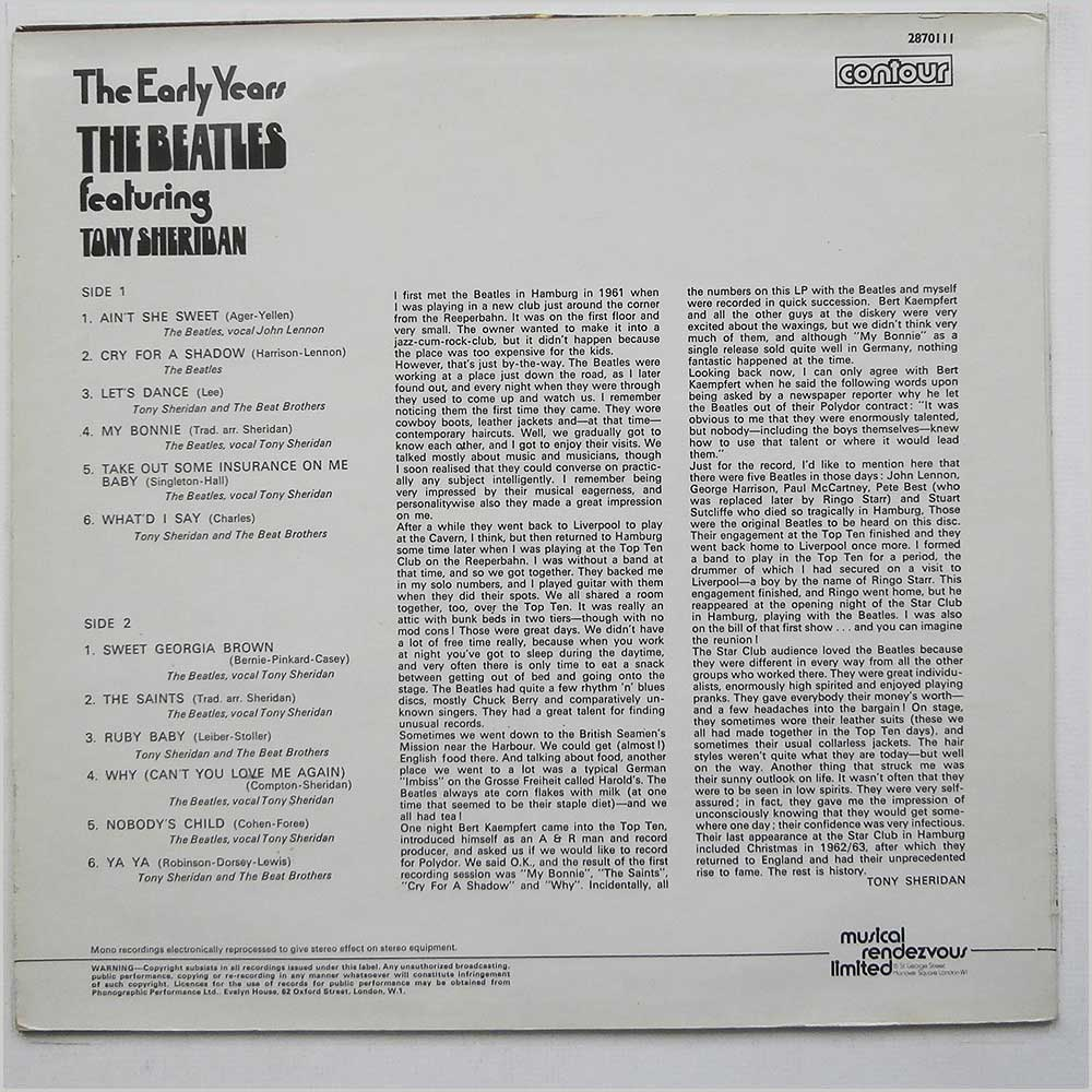 The Beatles - The Early Years (2870111)