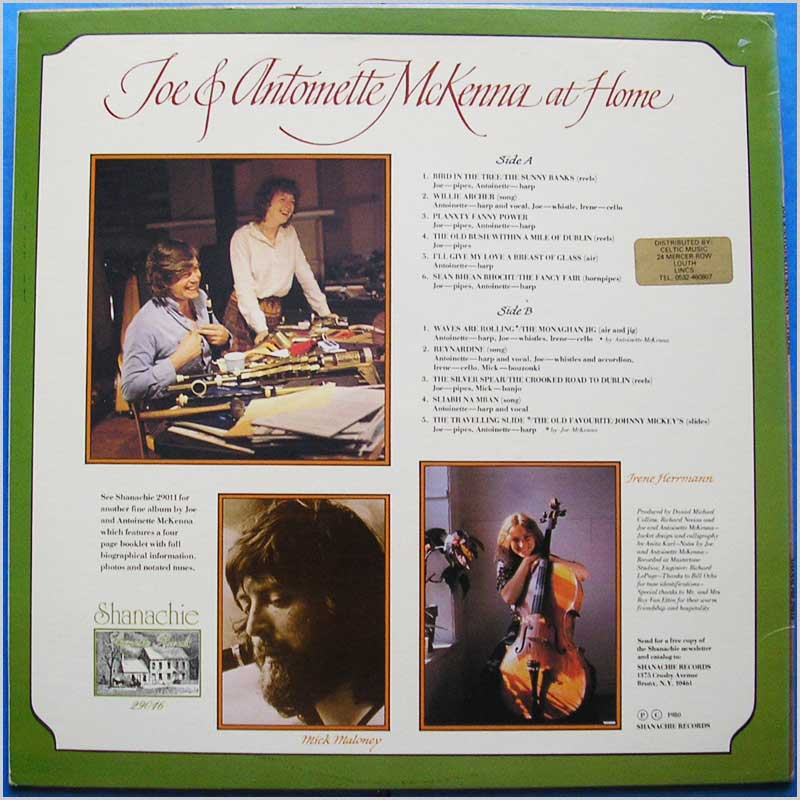 Joe & Antoinette McKenna - Joe & Antoinette McKenna at Home (29016)