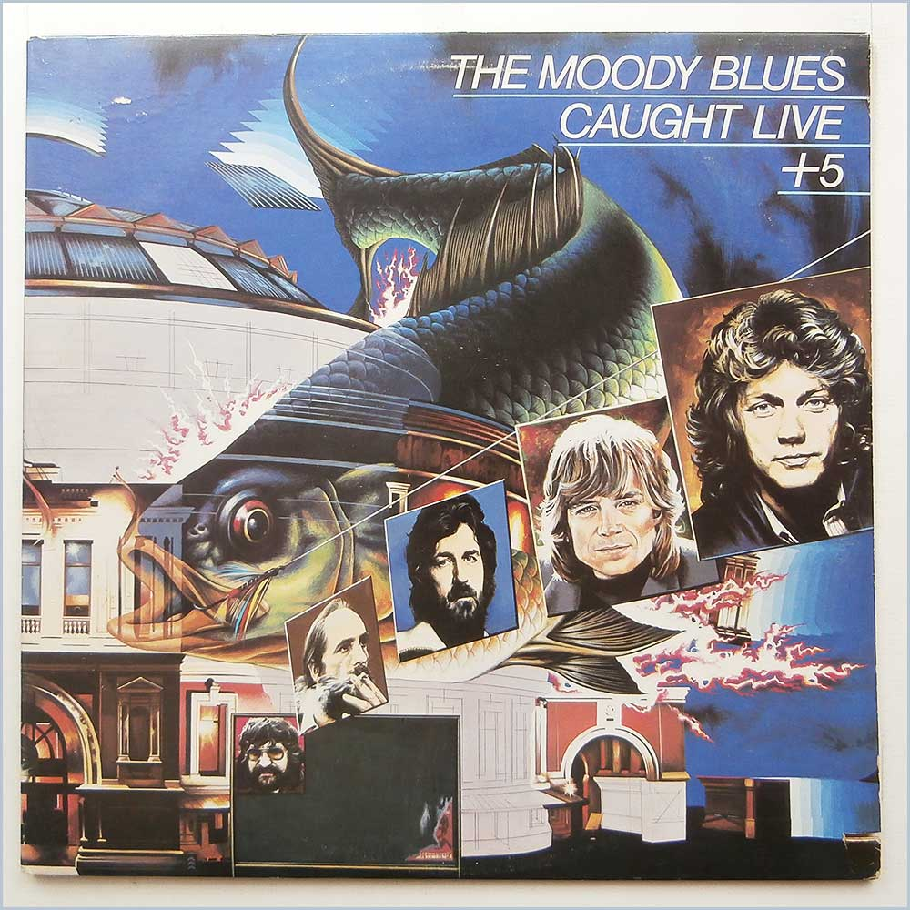 The Moody Blues - Caught Live + 5 (2 PS 690/1)