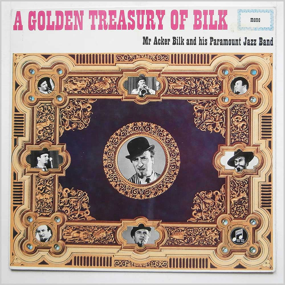 Acker Bilk - A Golden Treasury Of Bilk (33SX 1304)