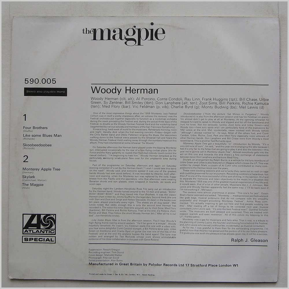 Woody Herman - The Magpie (590.005)