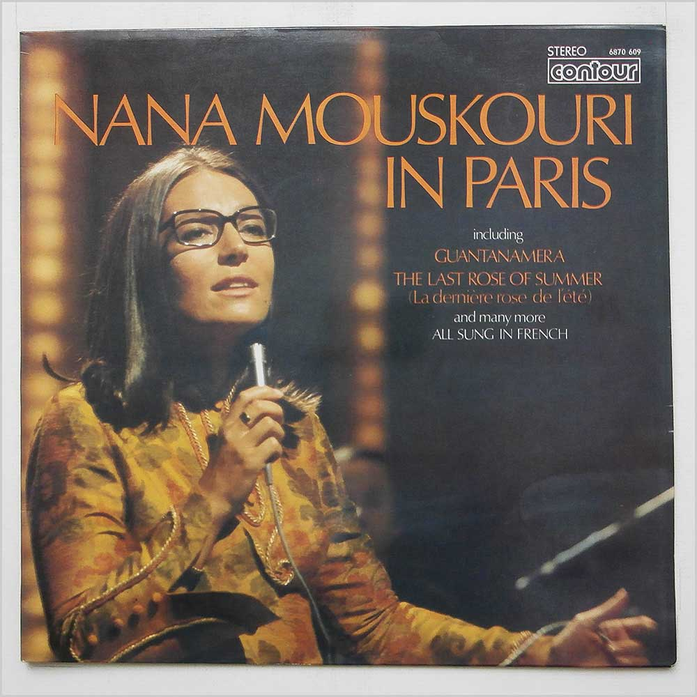 Nana Mouskouri - Nana Mouskouri In Paris (6870 609)