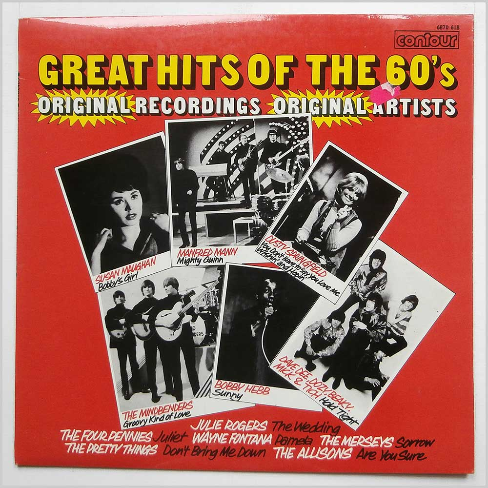 Various - Great Hits Of The Sixties Original Recordings.Original Artists (6870 618)
