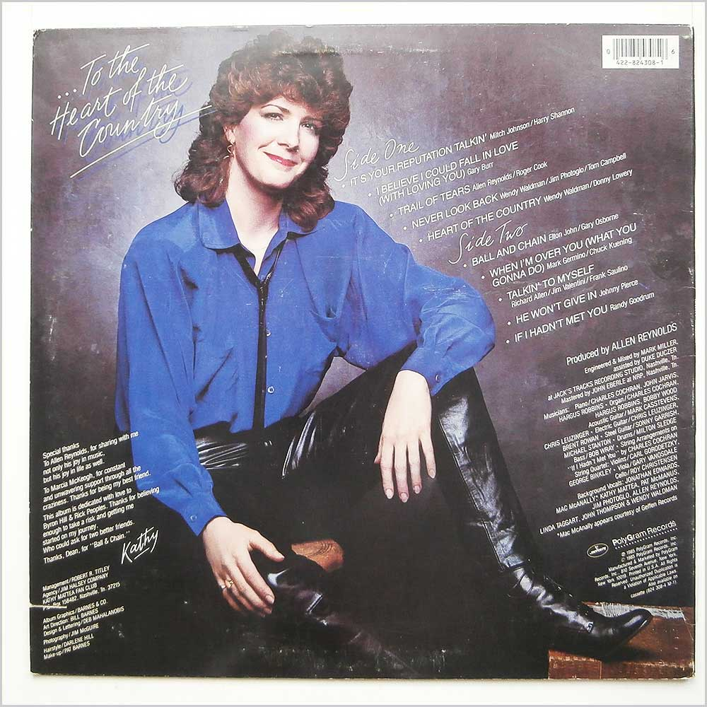 Kathy Mattea - From My Heart (824 308-1 M-1)