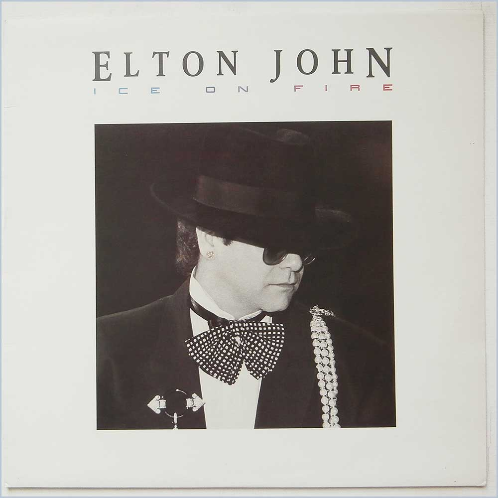 Elton John - Ice On Fire (826 213-1)