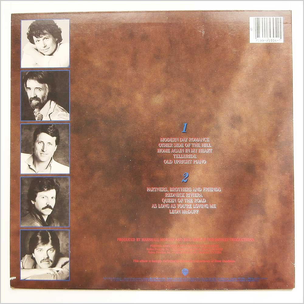 The Nitty Gritty Dirt Band - Partners, Brothers And Friends (9 25304-1)