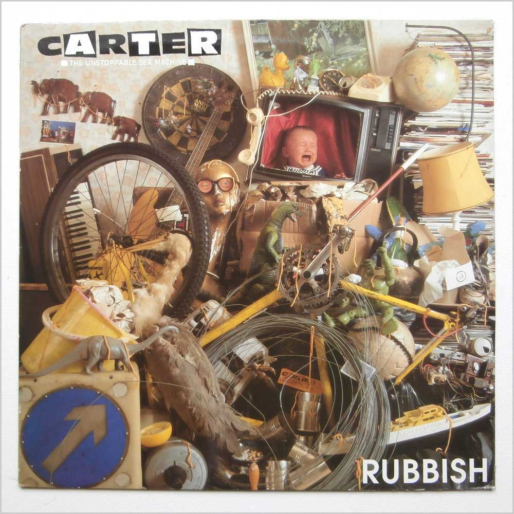 Carter The Unstoppable Sex Machine - Rubbish (ABB 102 T)