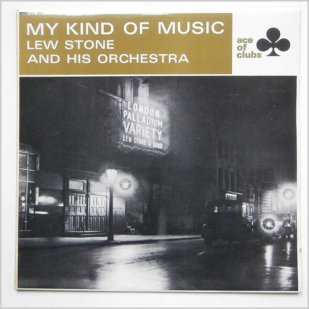 Lew Stone And His Orchestra - My Kind Of Music (ACL 1231)