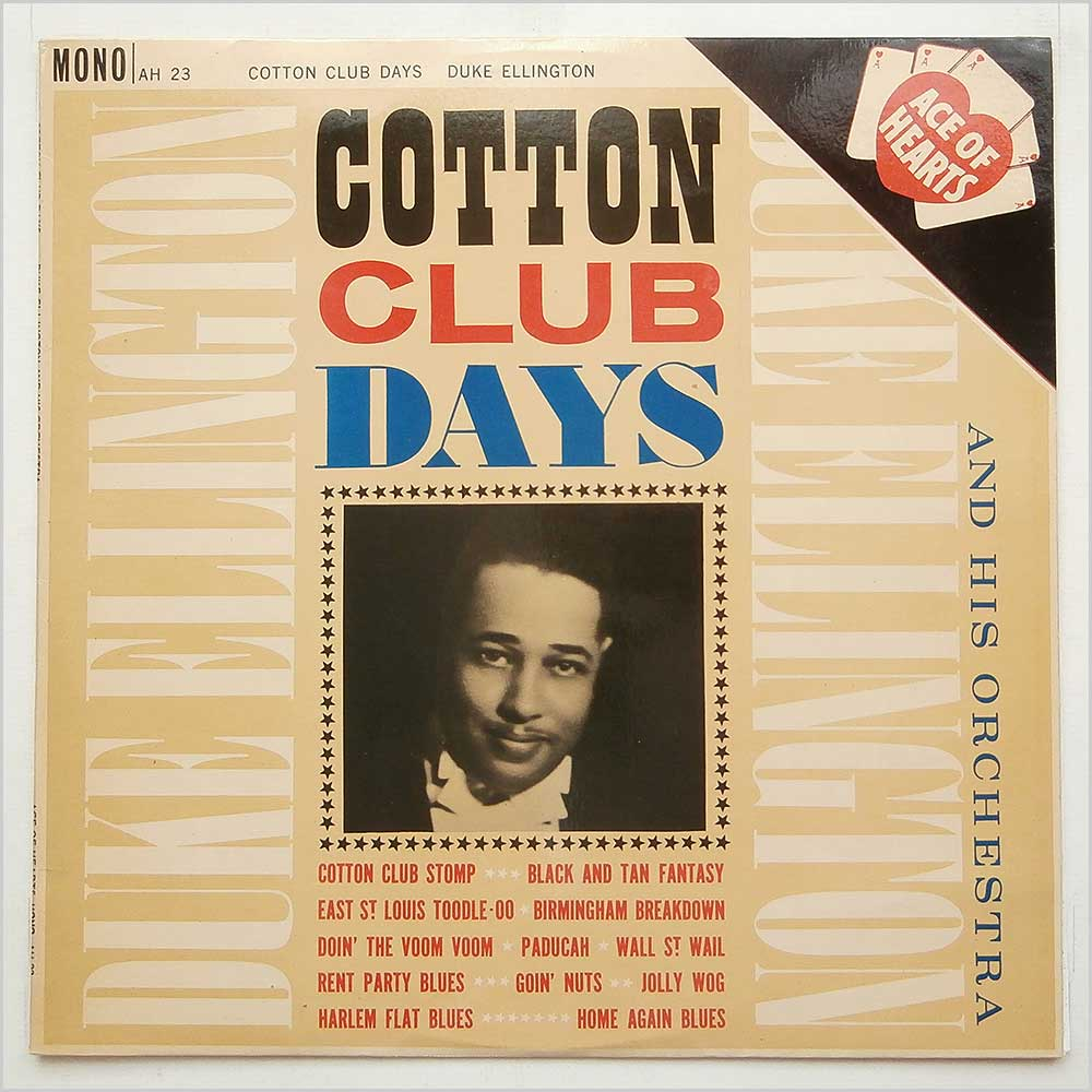 Duke Ellington And His Orchestra - Cotton Club Days (AH 23)
