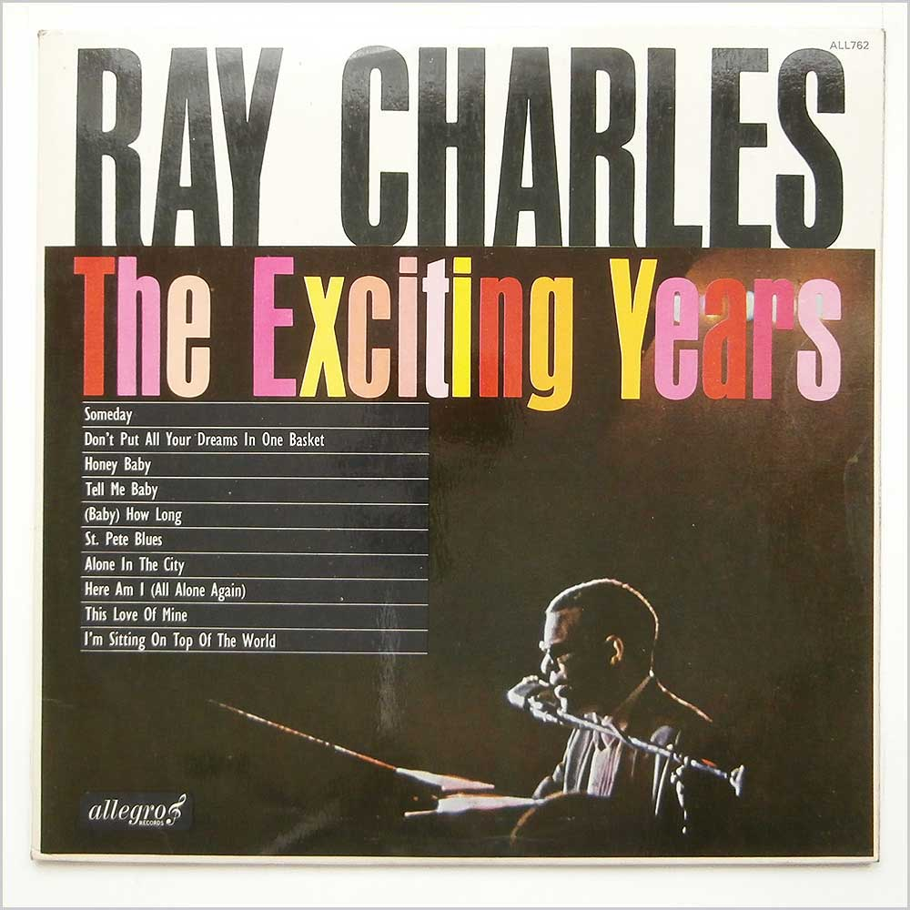 Ray Charles - The Exciting Years (ALL762)