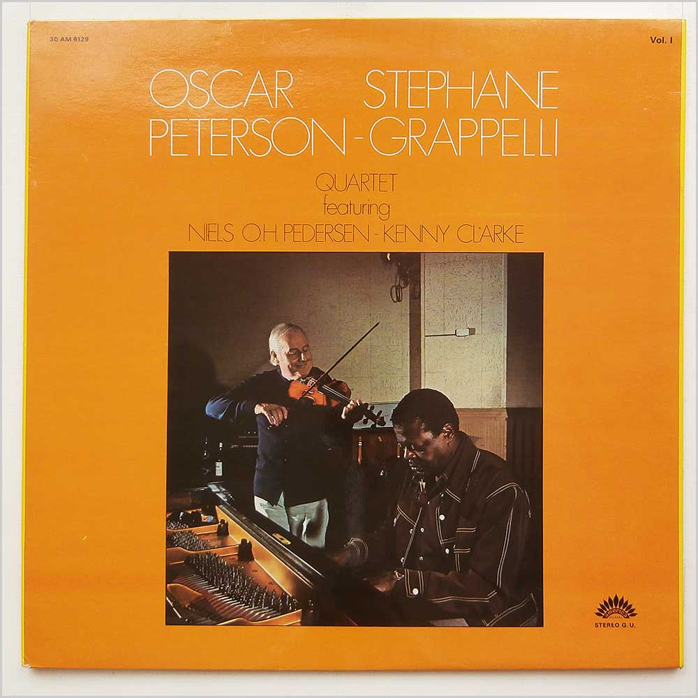 Oscar Peterson And Stephane Grappelli - Oscar Peterson Stephane Grappelli Quartet Vol 1 (AM 6129)