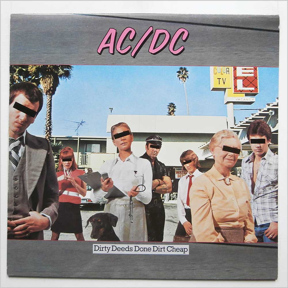 AC/DC - Dirty Deeds Done Dirt Cheap (ATL 50 323)