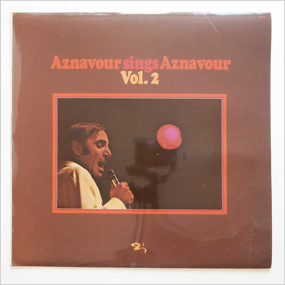 Charles Aznavour - Aznavour Sings Aznavour Vol 2 (BARCLAY 80418)