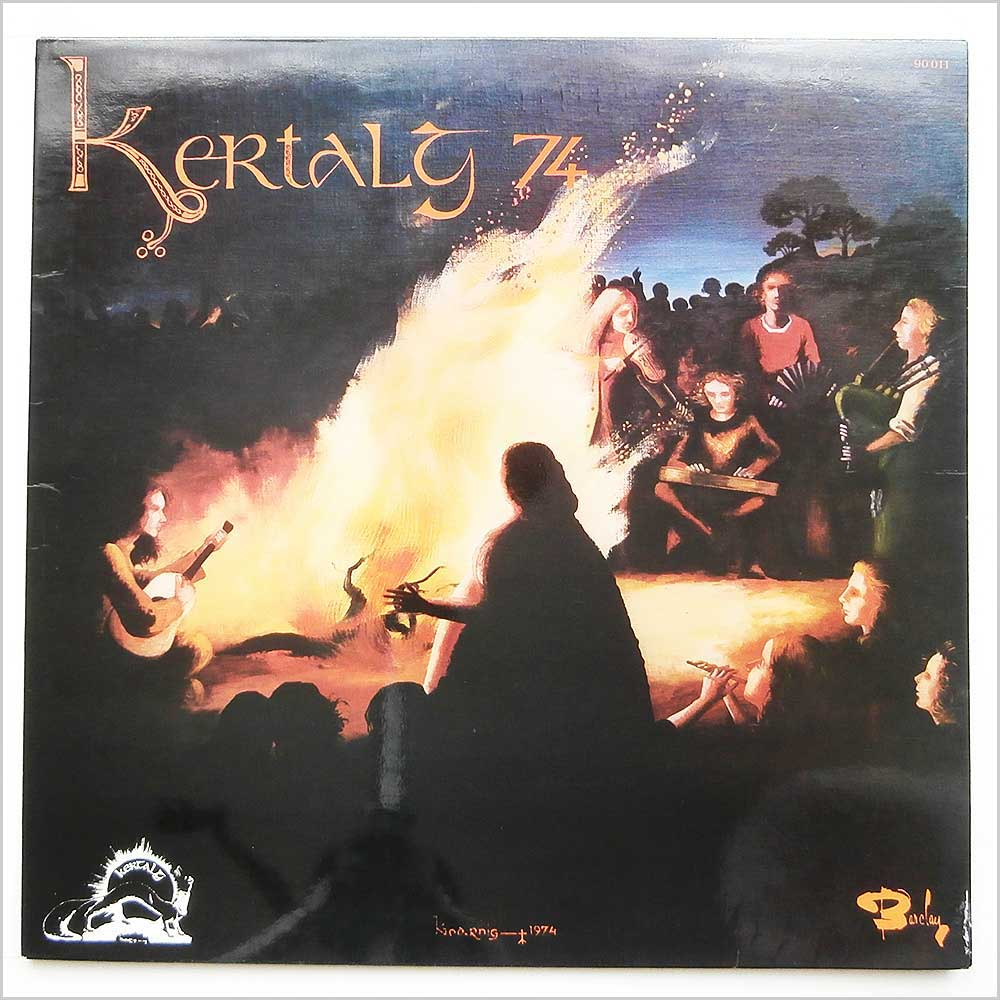 Various - Kertalg 74 Pop Celtic Et Folk International (BARCLAY 90011)