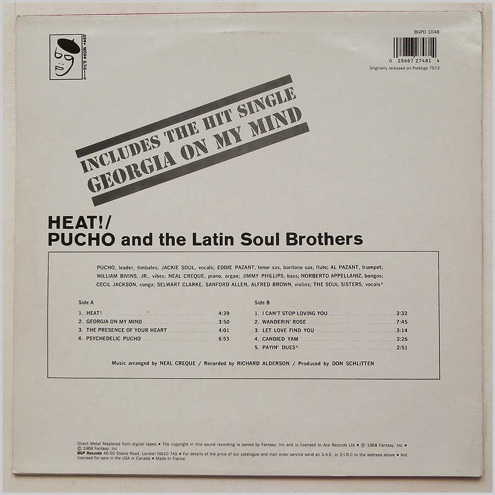 Pucho And The Latin Soul Brothers - Heat! (BGPD 1048)