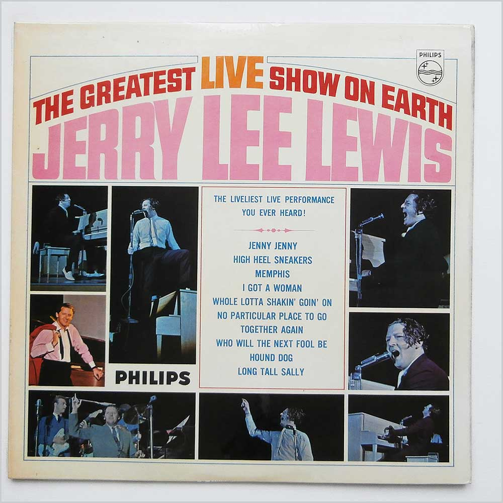 Jerry Lee Lewis - The Greatest Live Show On Earth (BL 7650)