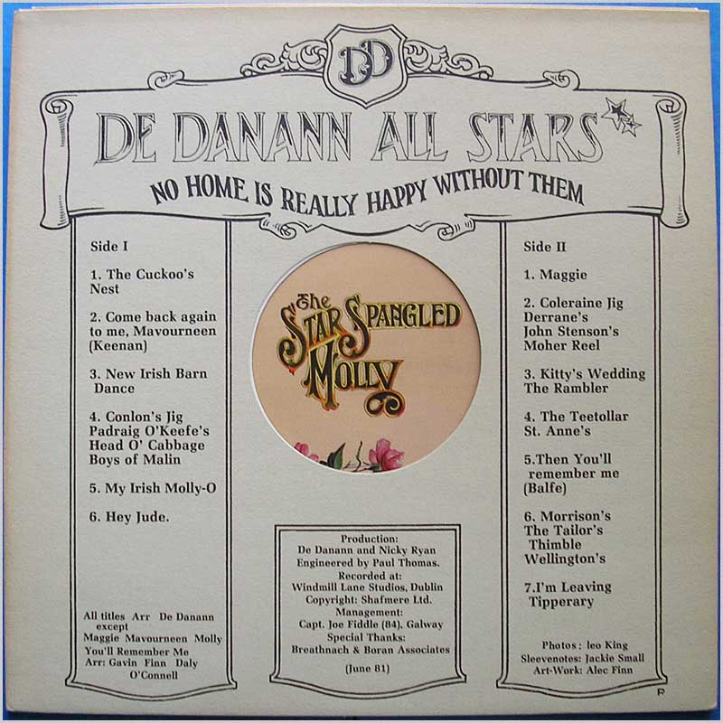 De Danann - The Star Spangled Molly (BLB 5006)
