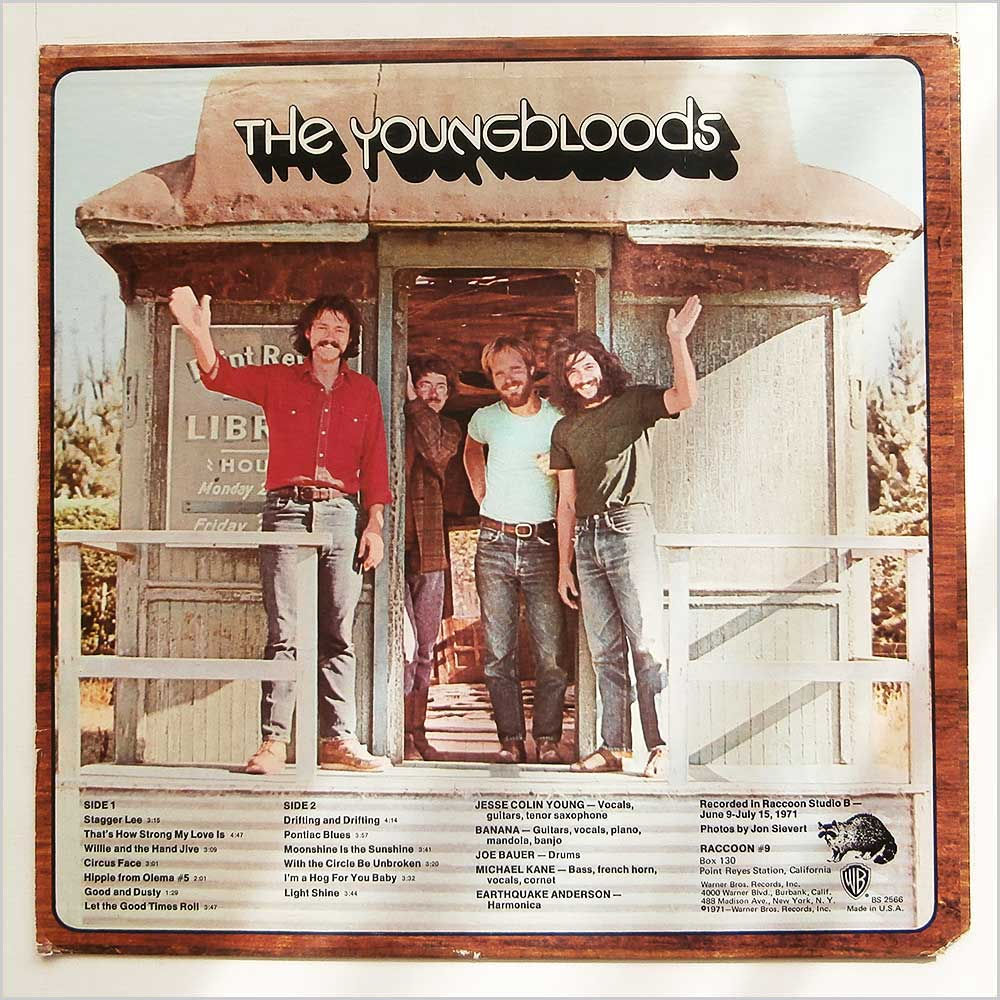 The Youngbloods - Good And Dusty (BS 2566)