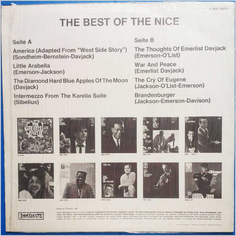 The Nice - The Best Of The Nice (C 048-90674)