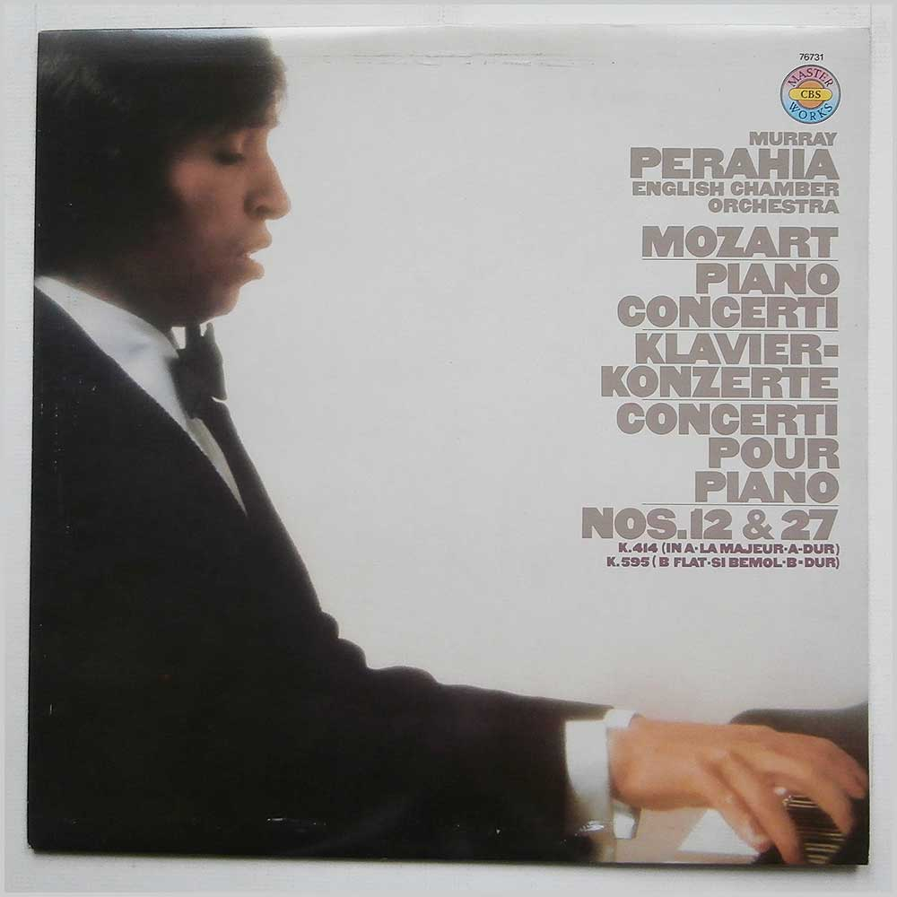 Murray Perahia - Mozart Piano Concerti K 414 And K 595 (CBS 76731)