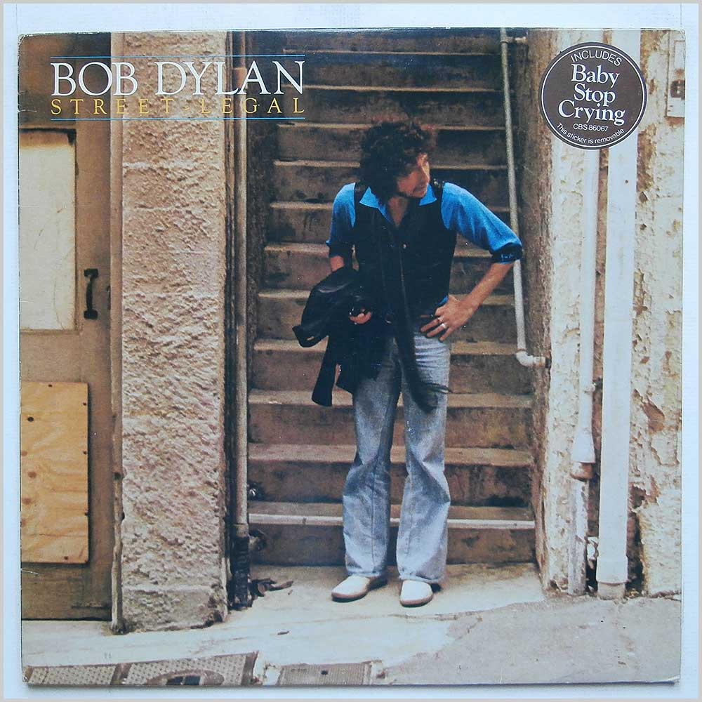 Bob Dylan - Baby Stop Crying (CBS 86067)
