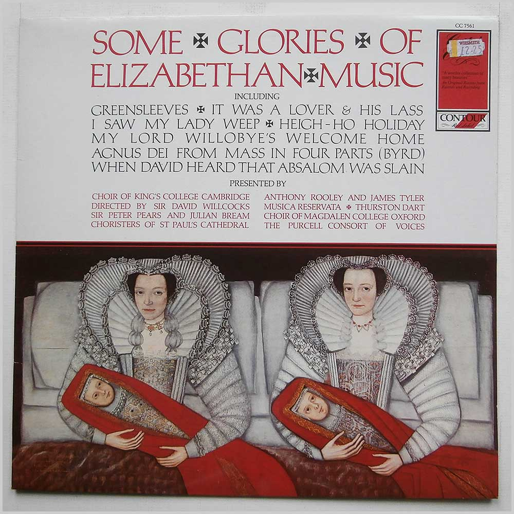 Choir Of King's College Cambridge - Some Glories Of Elizabethan Music (CC 7561)