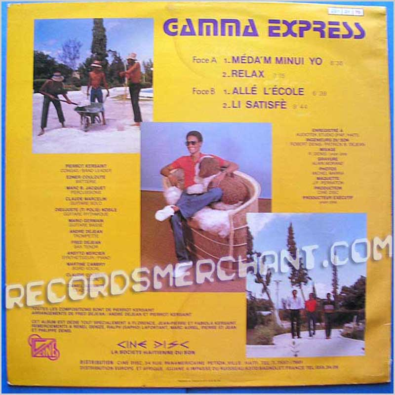 Gamma Express - Gamma Express Vol IV (CD1 21 70)