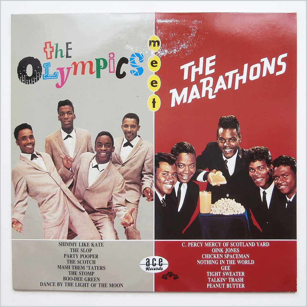 The Olympics and The Marathons - The Olympics Meet The Marathons (CH 123)