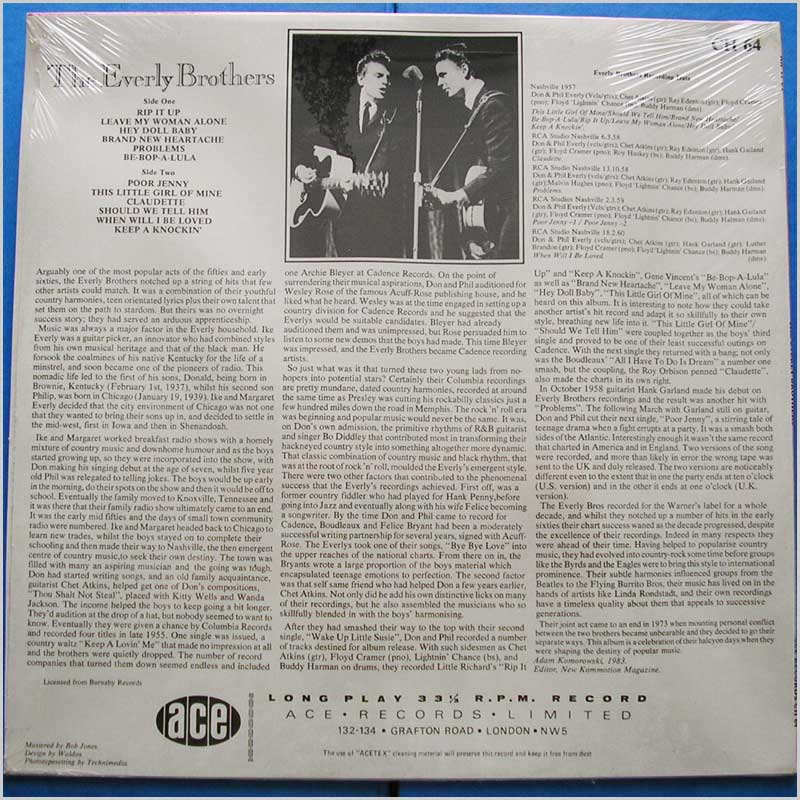 Everly Brothers - Rip It Up (CH 64)