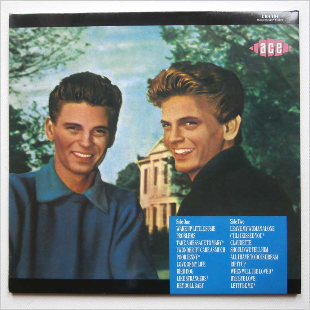 The Everly Brothers - Greatest Recordings (CHA 194)