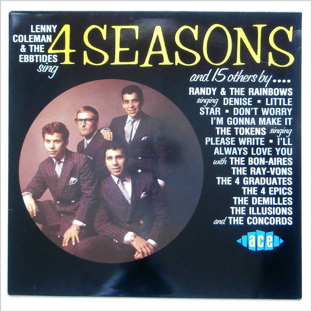 Lenny Coleman And The Ebbtides - Lenny Coleman And The Ebbtides Sing 4 Seasons And 15 Others By (CHD 215)