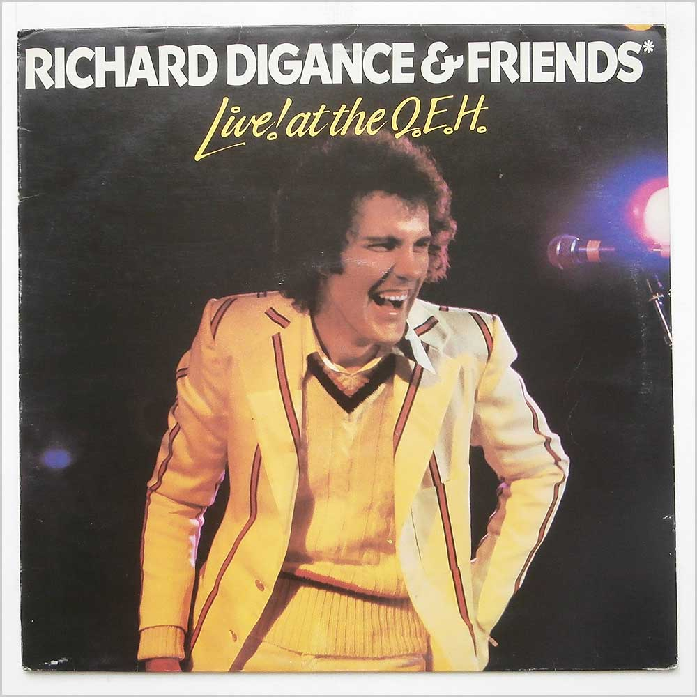 Richard Digance - Richard Digance And Friends At The Q.E.H. (CHR 1187)