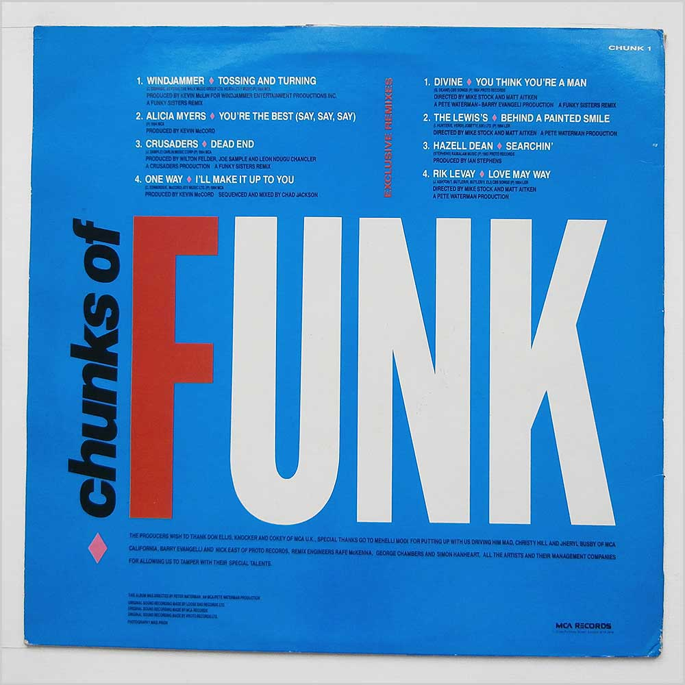 Various - Chunks Of Funk (CHUNK 1)