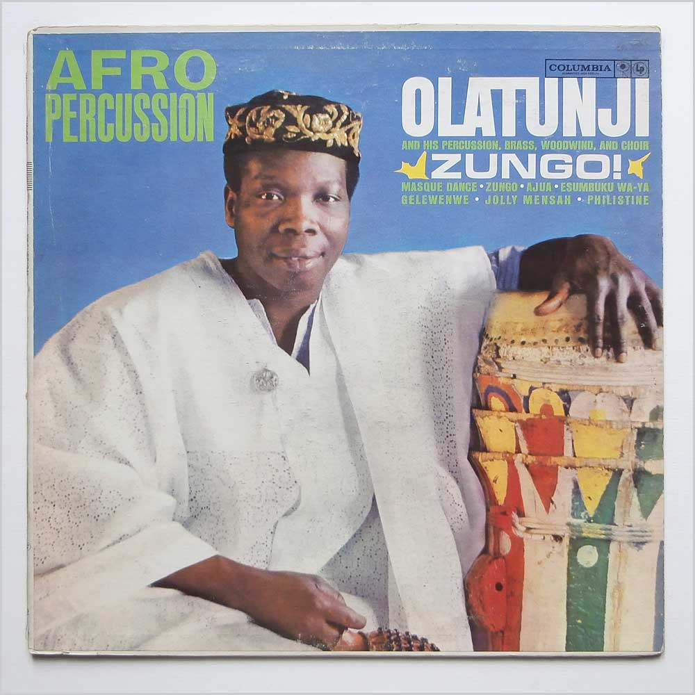 Olatunji - Afro Percussion Zungo! (CL 1634)