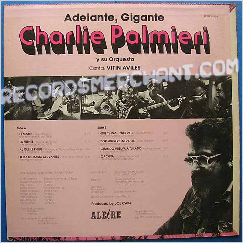 Charlie Palmieri And His Orchestra - Adelante Gigante (CLPA 7013)