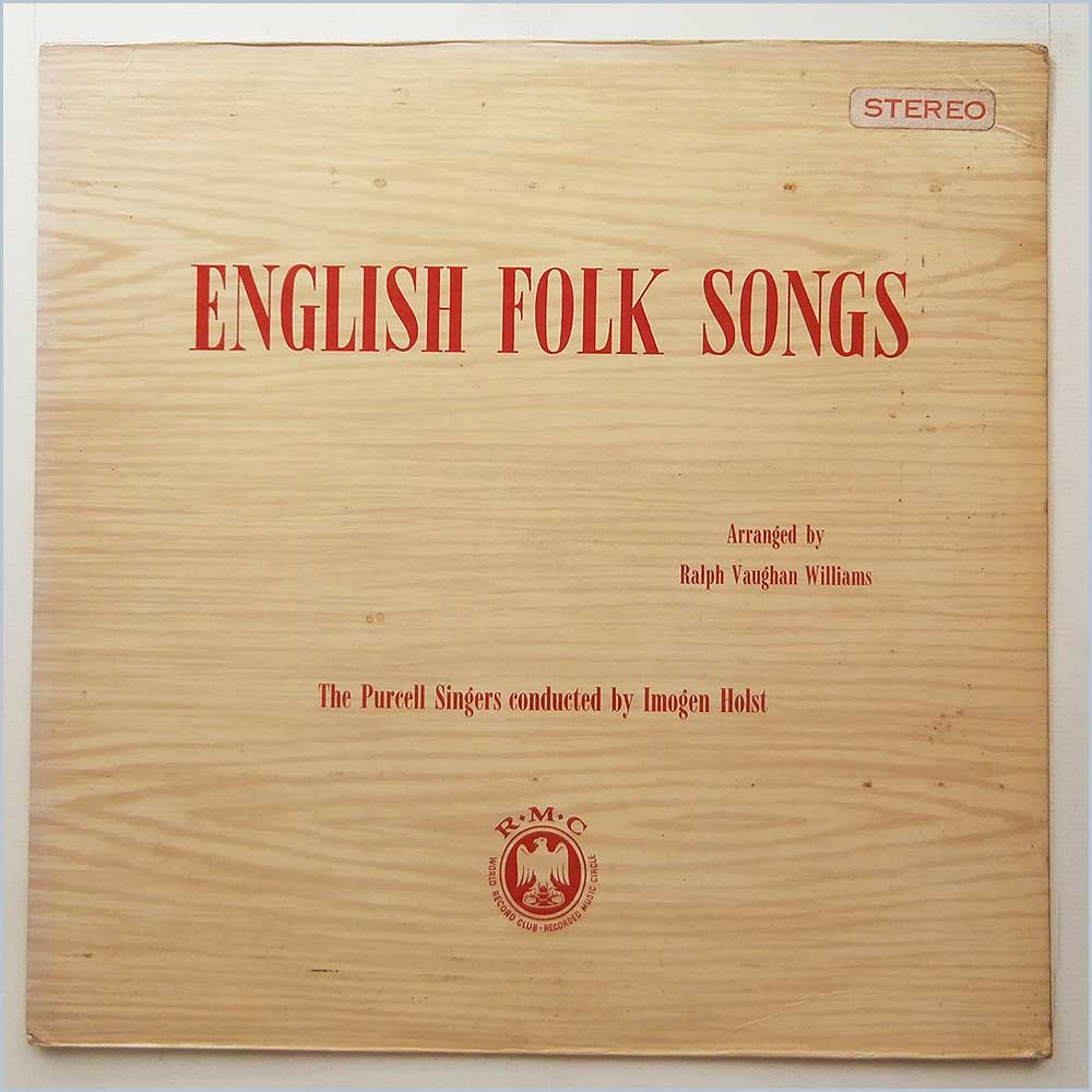The Purcell Singers - English Folk Songs (CM 46)