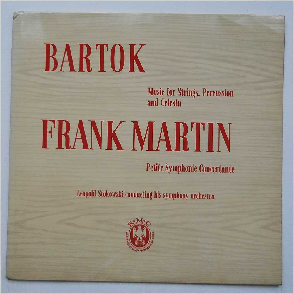 Frank Martin - Bartok Music For Strings, Percussion And Celesta (CM 69)
