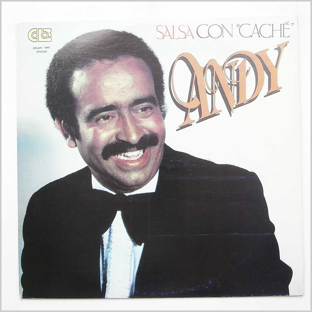 Andy Montanez - Salsa Con Cache (COLOR-1640)