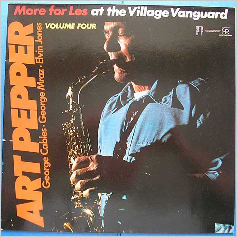Art Farmer - More For Les at the Village Vanguard Volume 4 (COP 025)