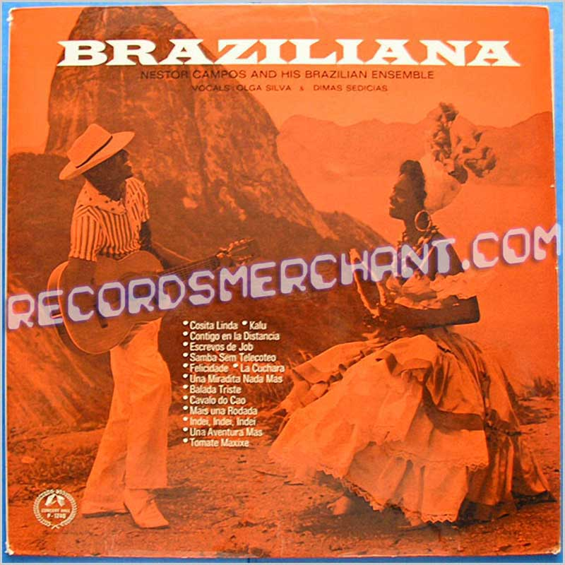 Nestor Campos And His Brazilian Ensemble - Braziliana (CP 1240)