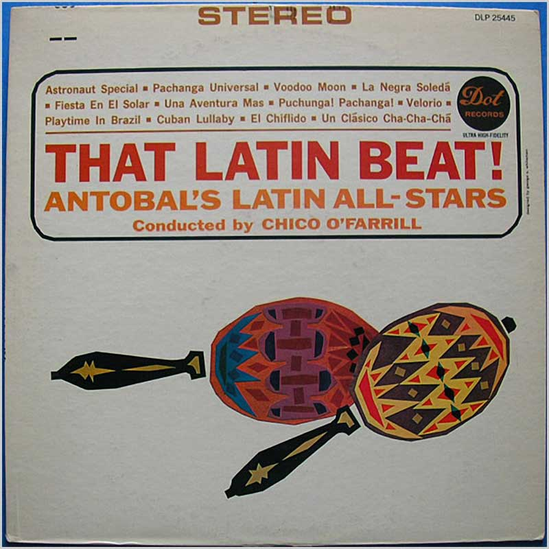 Antobal's Latin All-Stars - That Latin Beat! (DLP 25445)