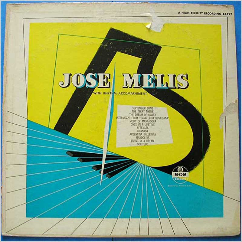 Jose Melis - With Rhythm Accompaniment (E3527)