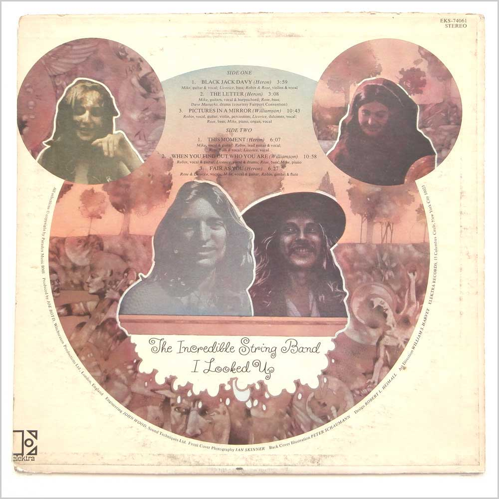 The Incredible String Band - I Looked Up (EKS-74061)
