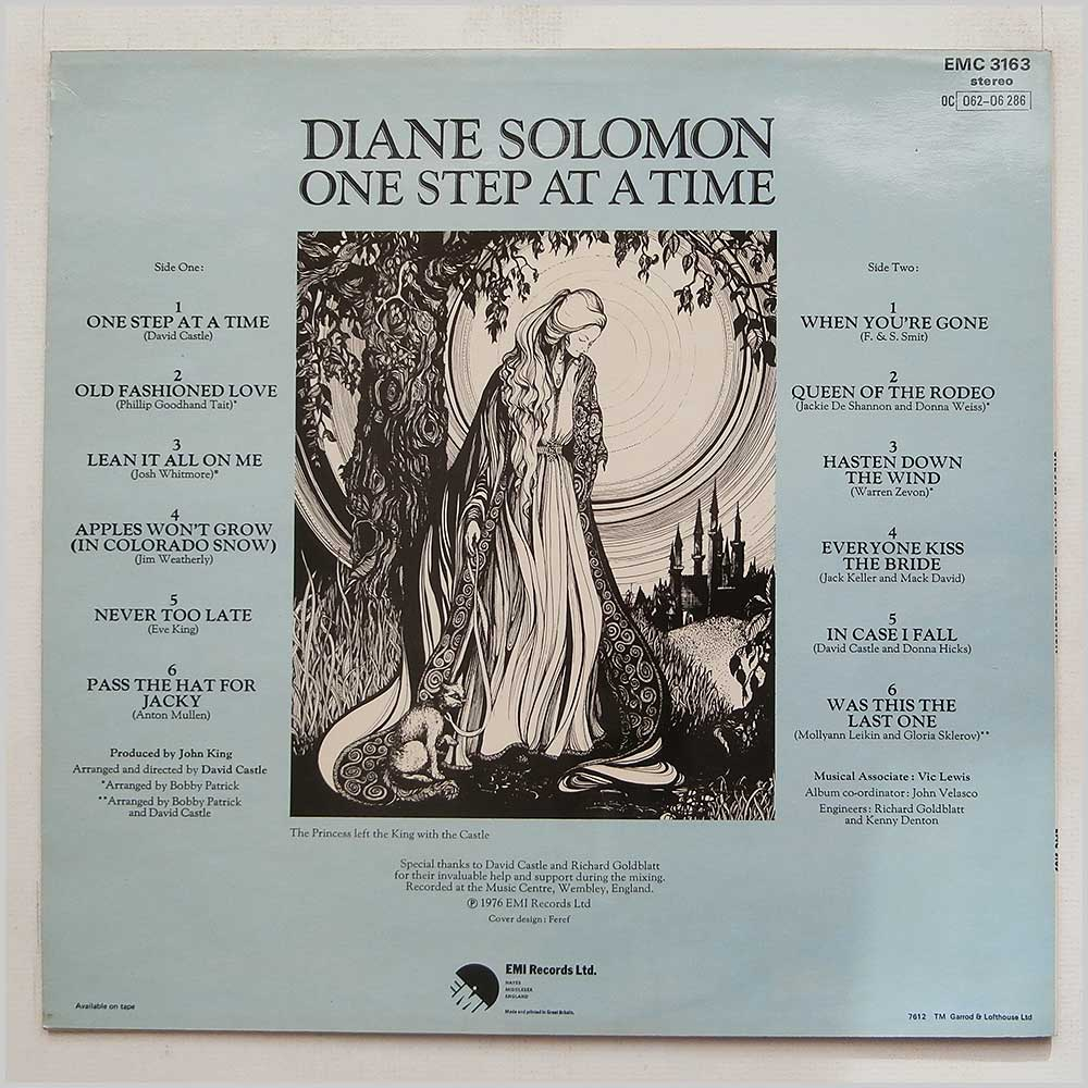 Diane Solomon - One Step At A Time (EMC 3163)